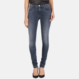 J Brand Skinny Stacked Jeans in Crush